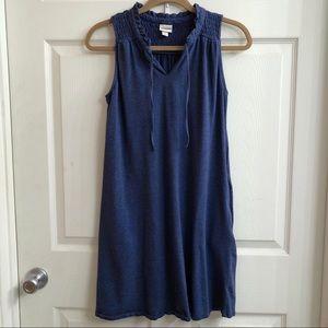 Blue dress with pockets!